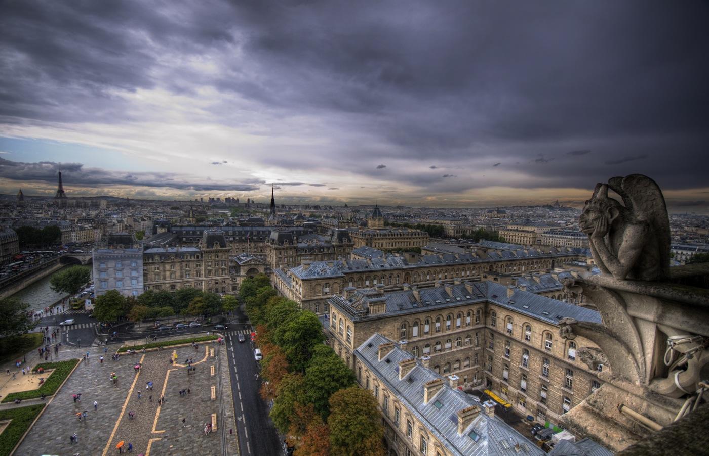 A Gargoyle's View